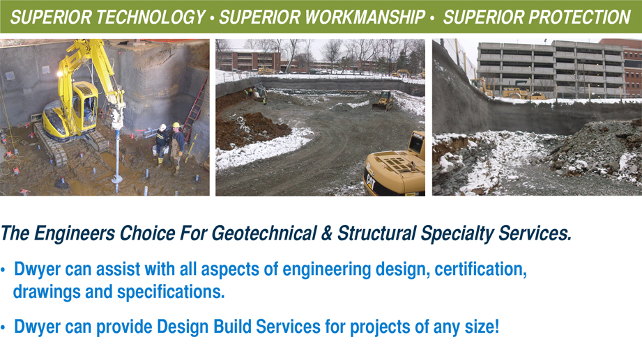 Dwyer Companies Commercial Slope Stabilization